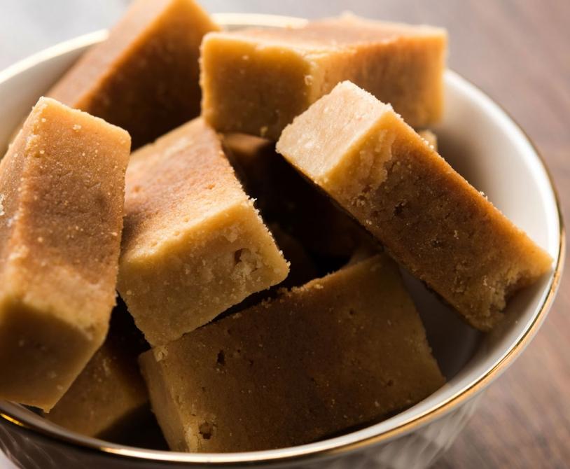 Ghee Mysore Pak Indian sweet recipe